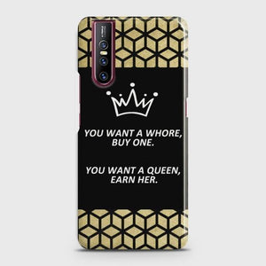 VIVO V15 PRO You Want A Queen Earn Her Case Bahria Stores by Bahria Stores in [product_type]
