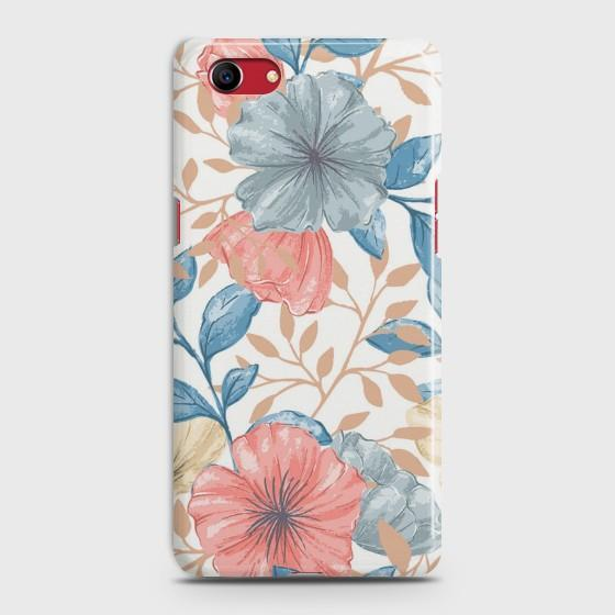 OPPO A1K Seamless Flower Case Bahria Stores by CaseFactory in Customized Case