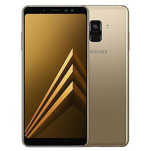 Samsung Galaxy A8 Plus (4GB, 64GB) 2018  Gold Bahria Stores by Samsung in Smartphones