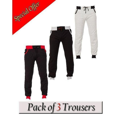 Aybeez Pack of 3 Trousers For Men Bahria Stores by Aybeez in Trousers & Pants