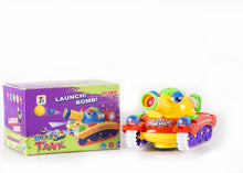 Load image into Gallery viewer, Crazy Tank Rotating Light Voice Bahria Stores by bahriastores in Electronic Toys