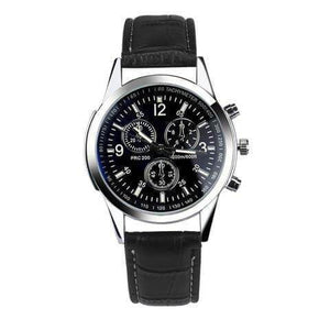Fashion Leather Mens Analog Watch Bahria Stores by bahriastores in Men's Analog Watches