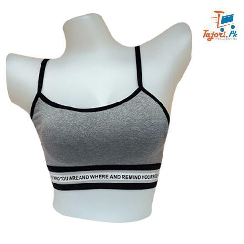 Soft Light thin foam Sports Bra for Women Bahria Stores by Imported Products in Women's Undergarments