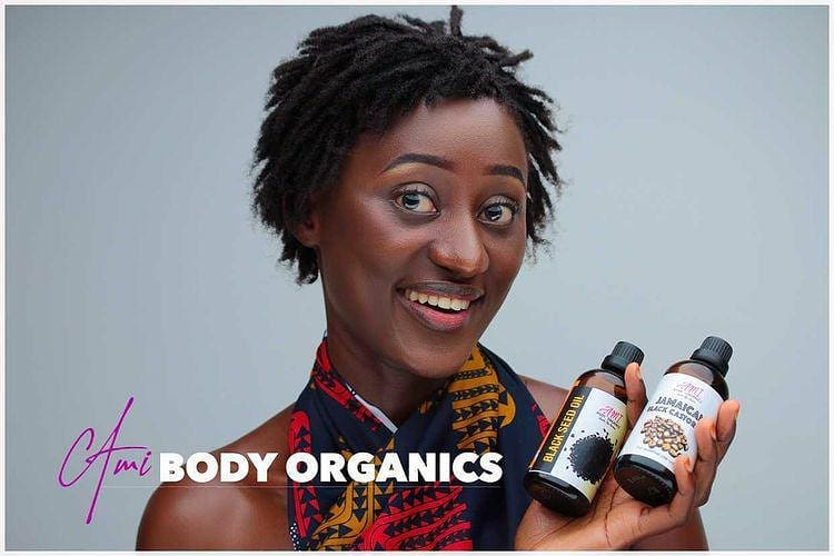 HOW AMI BODY ORGANICS BEGINS HER JOURNEY TO THE COSMETICS BUSINESS