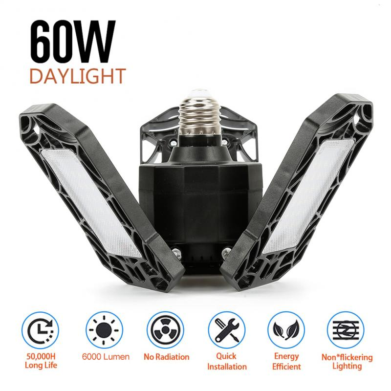 Super Bright LED Garage Lights | 60W | 6000LM