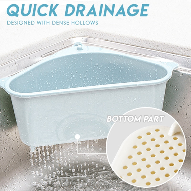 Kitchen Triangular Sink Strainer