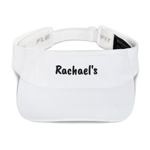 Personalized Name Visor for Mom White Color