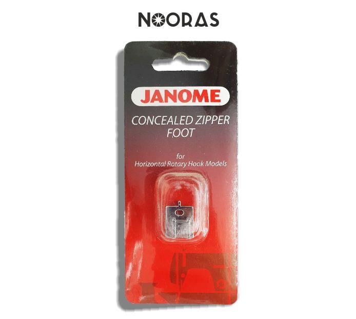 Janome Concealed Zipper foot