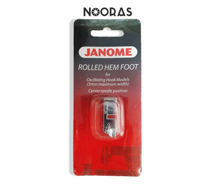 Janome rolled hem foot