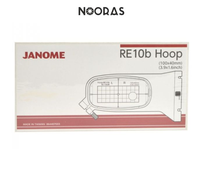 Janome hoops for 400e