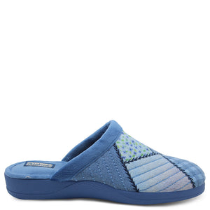 Devalverde 117 Blue multi womens slipper