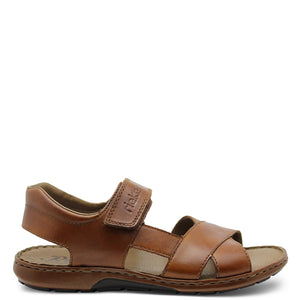 Rieker 28963 Mens Brown Sandal
