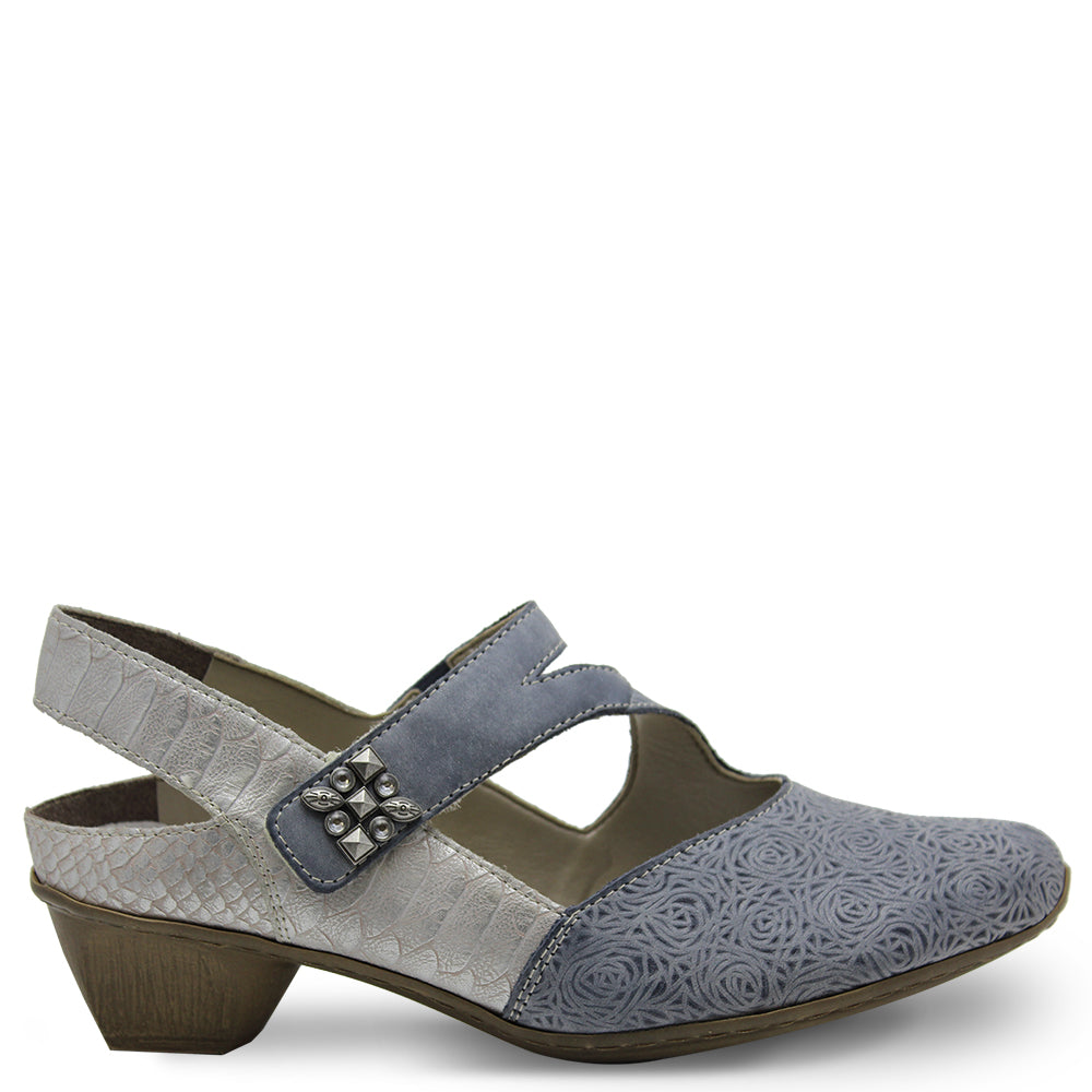 Rieker 49770 Jeans low heel shoe