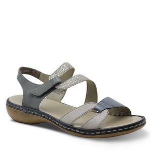 Reiker 65969 Grey Womens Sandal
