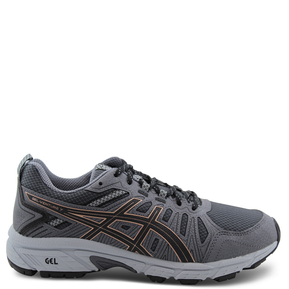 Asics Gel Venture 7 Grey/Rose Womens Running