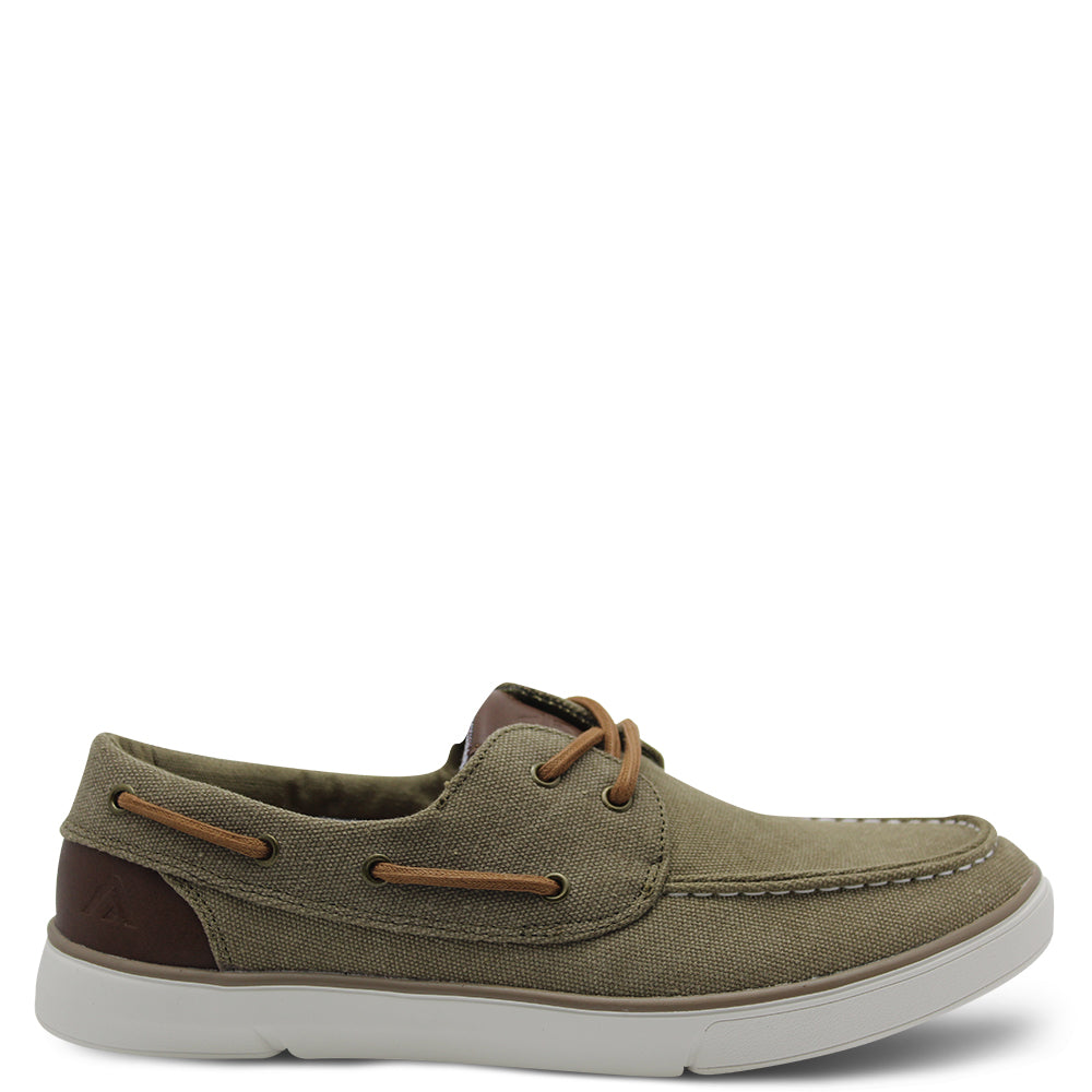 Colorado C Ailon Mens Taupe boat shoe