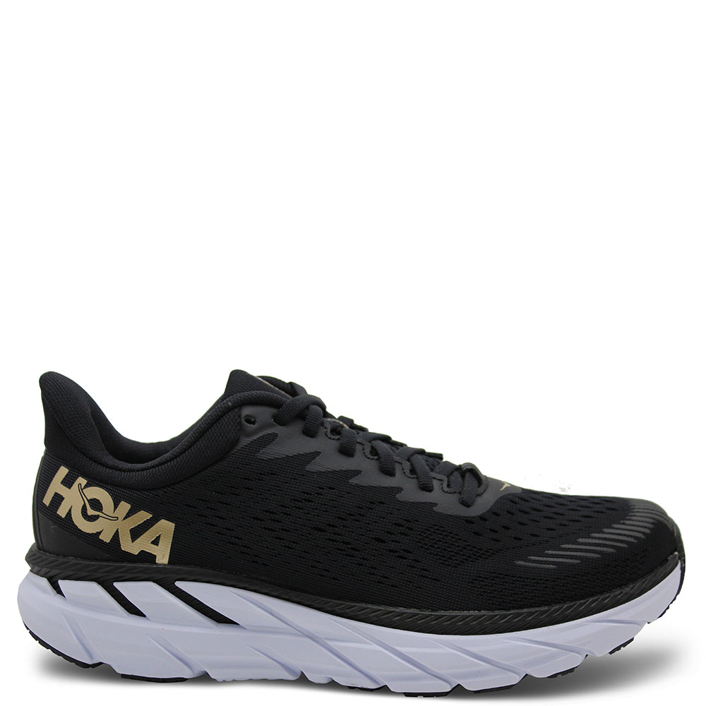 Hoka Clifton 7 Womens Black/Bronze Runner