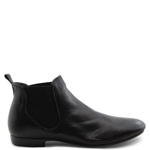 Eos Nila Black Slip On Womens Boot