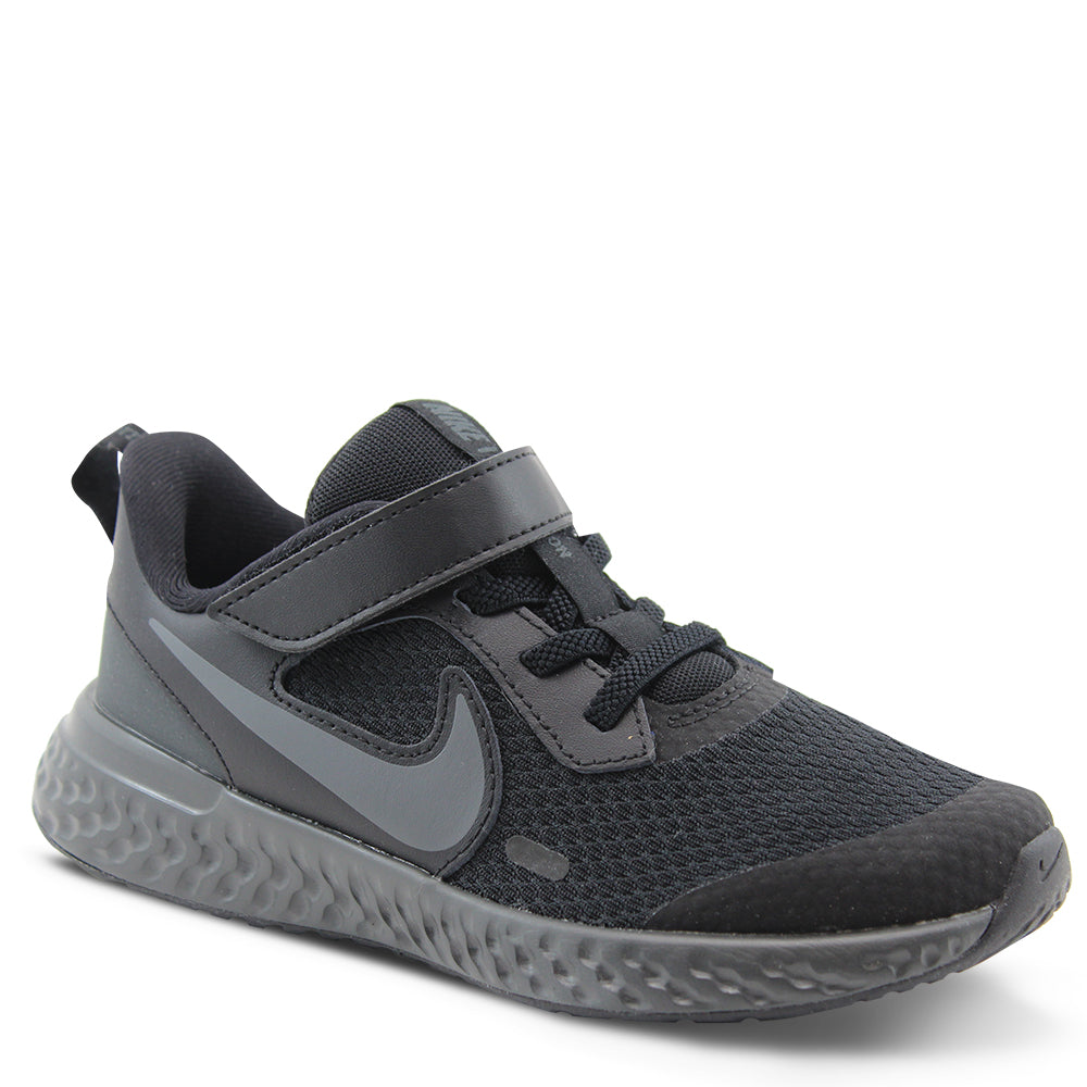Nike Revolution 5 PS Kid's Black Runner