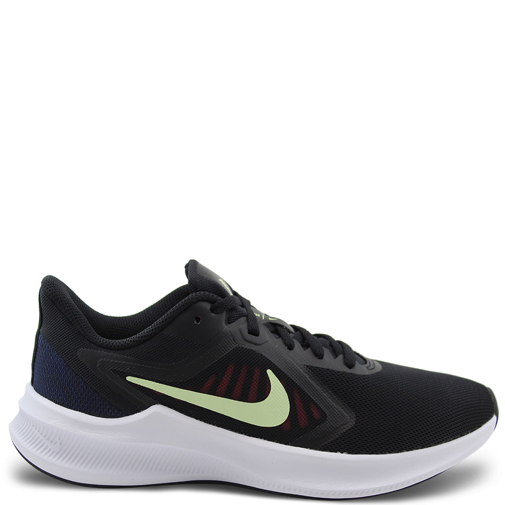 Nike Downshifter 10 Womens Black/Lime Runner