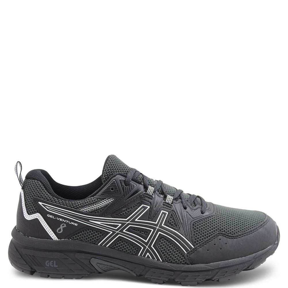 Asics Gel Venture 8 Black Mens Runner