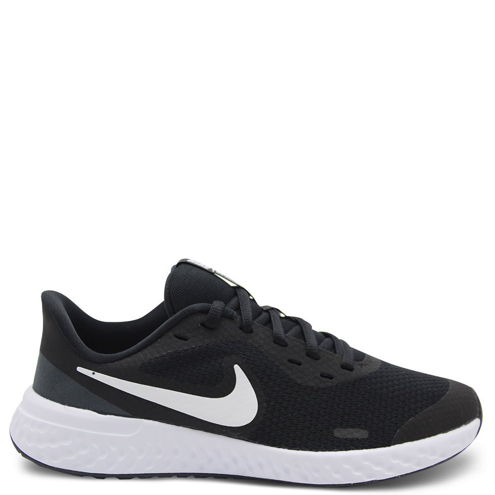 Nike Revolution 5 GS Black/White Runner