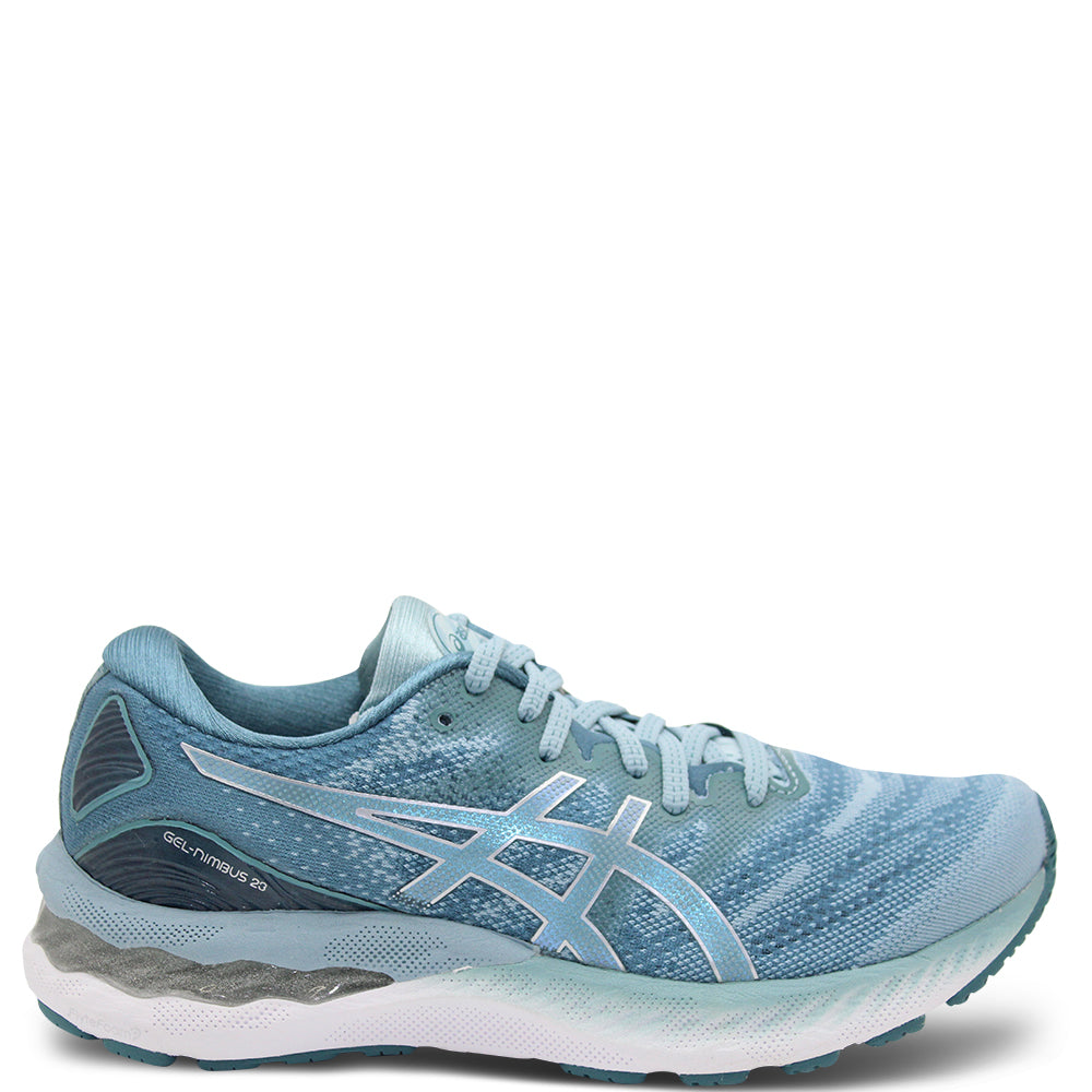 Asics Gel Nimbus 23 Women's Blue/Silver Running Shoe