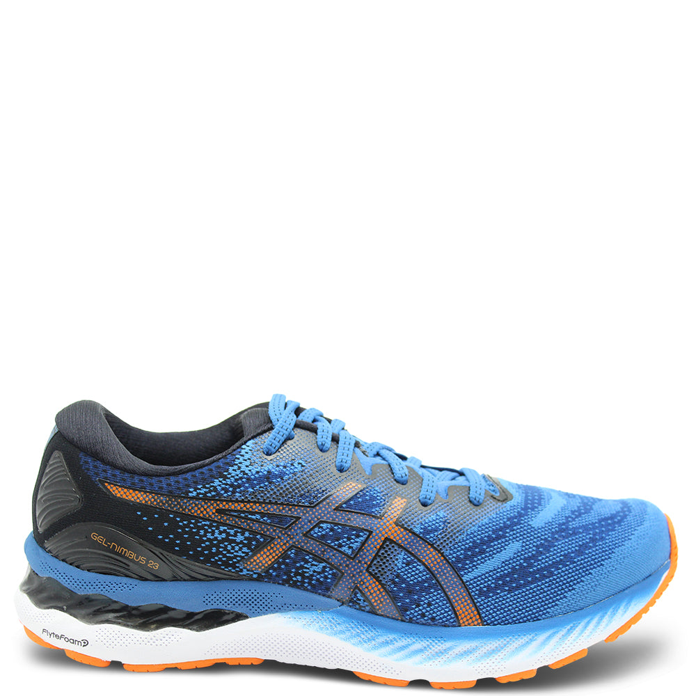 Asics Gel Nimbus 23 Men's Blue/Black Running Shoe