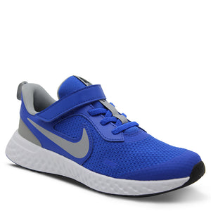 Nike Revolution 5 PS Blue/Grey Kid's Runner