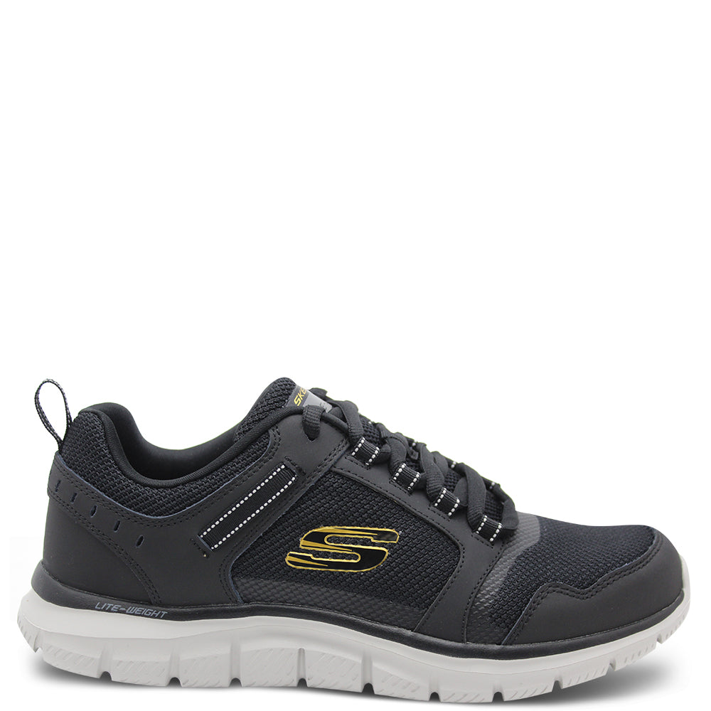 Skechers Knockhill Mens Black Sneaker
