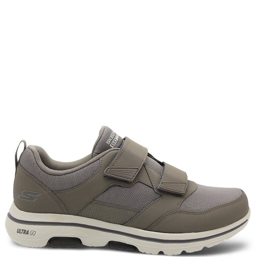 Skechers Wistful Men's Khaki Velcro Sneaker