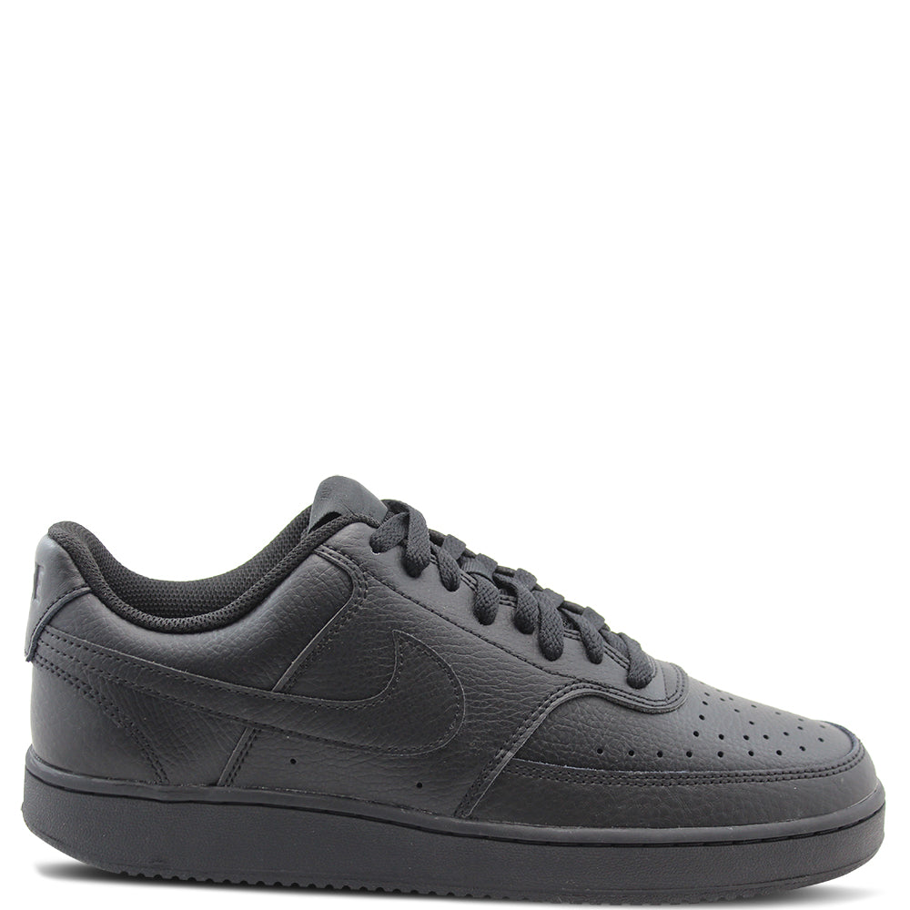 Nike Court Vision Men's Black Sneaker