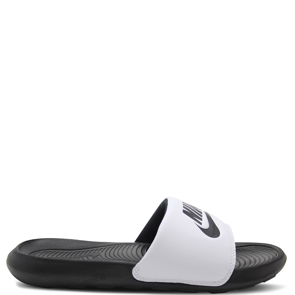Nike Victori One Black/White Unisex Slide