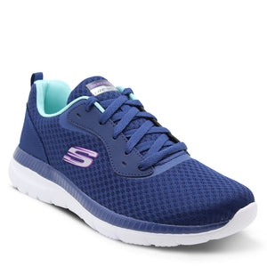Skechers Bountiful Navy Women's Sneaker