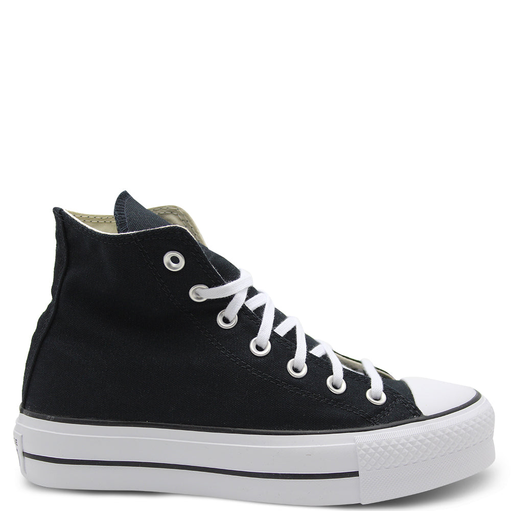 Converse CT Lift Hi Black/White Women's Sneaker