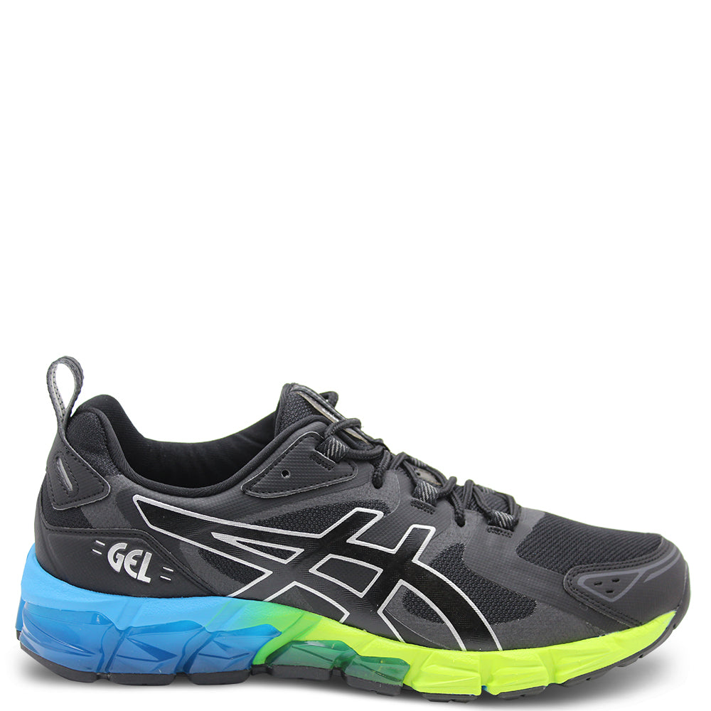 Asics Gel Quantum 180 Mens Black/Blue Trainer