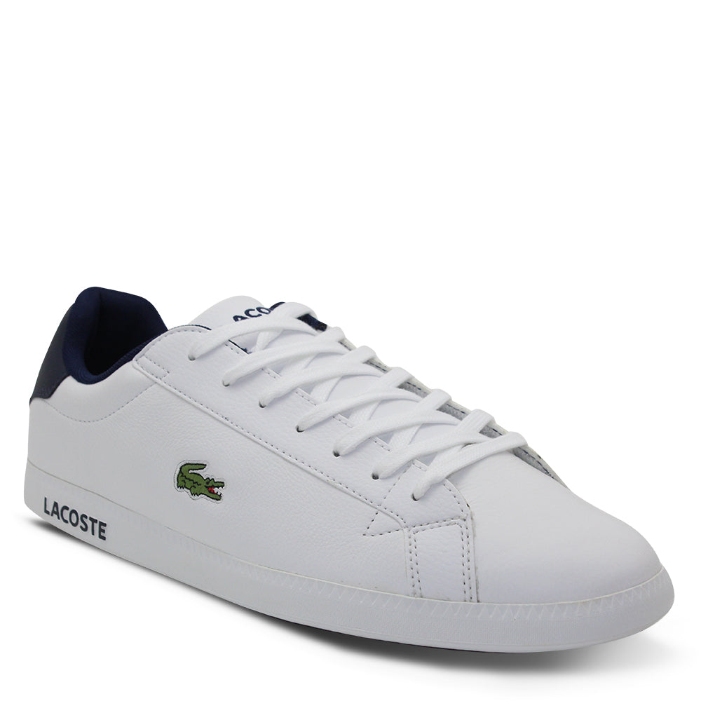 Lacoste Graduate LCR3 Men's White/Dark Blue Sneaker
