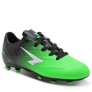 Sfida Ignite Junior Black/Green Football Boot