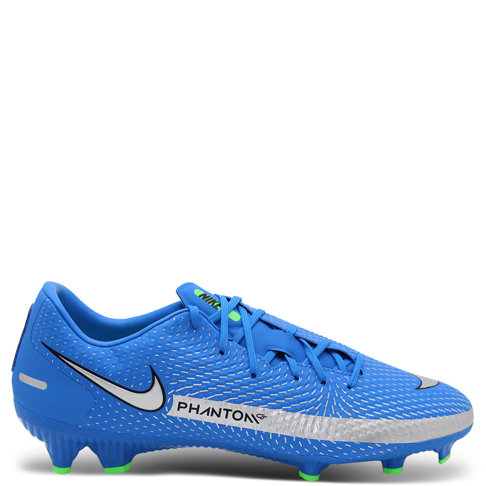 Nike Phantom GT Academy Men's Blue/Silver Football Boot