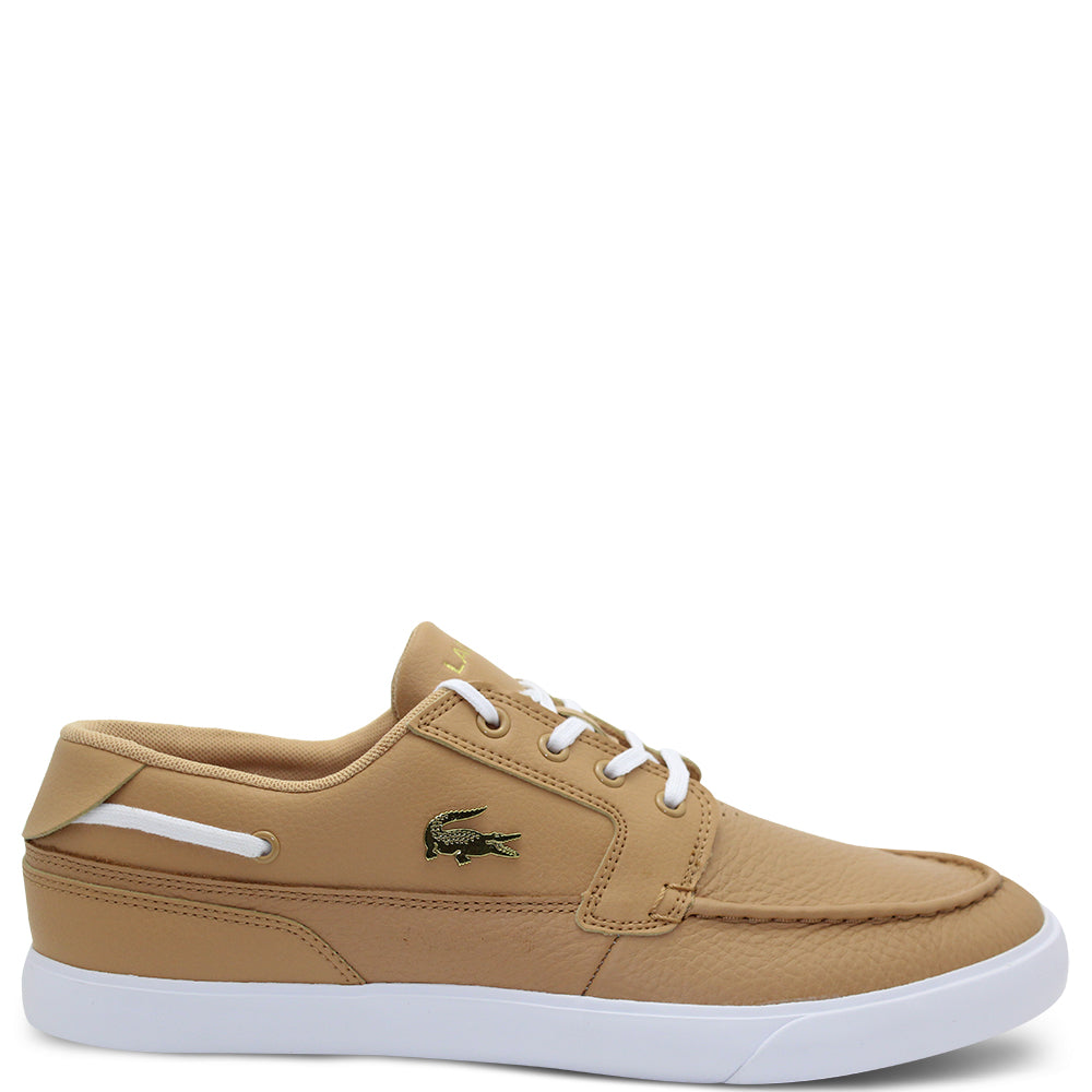 Lacoste Bayliss Tan Men's Boat Shoe