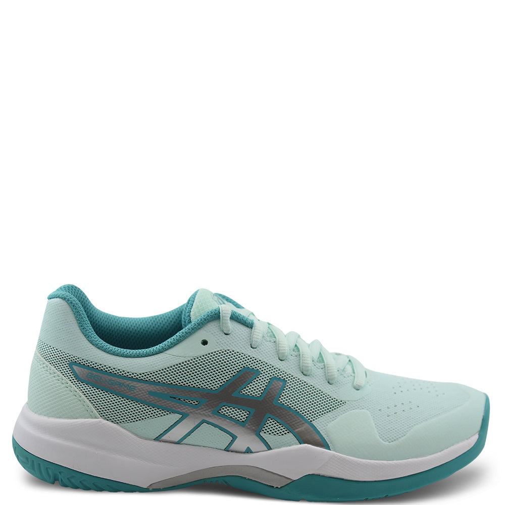Asics Gel Game 7 Women's Mint/Silver Netball Shoe