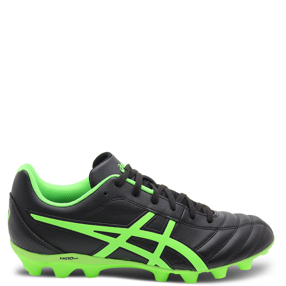 Asics Lethal Flash IT GS Black/Green Football Boot