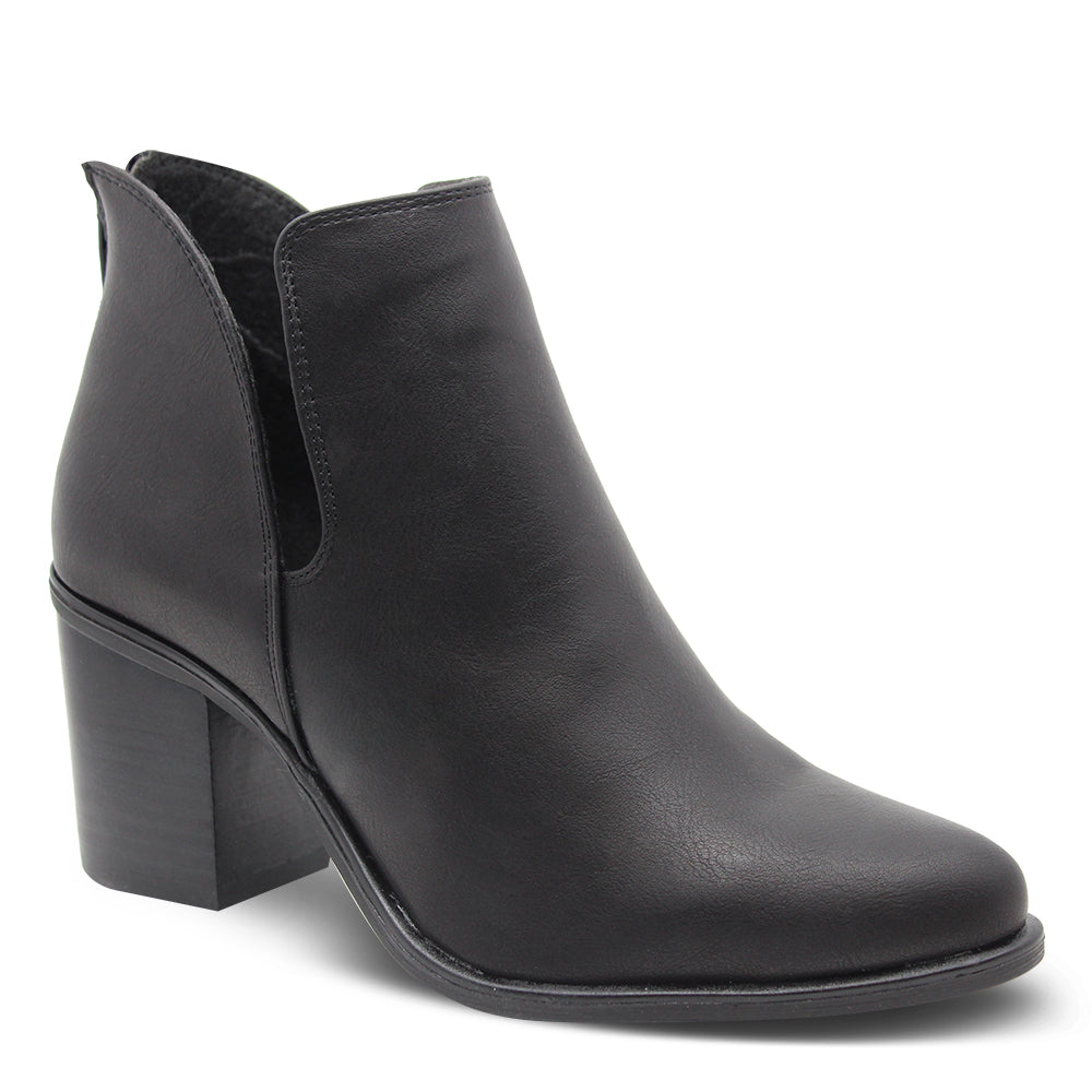 Verali Stefan Women's Black Heel Boot