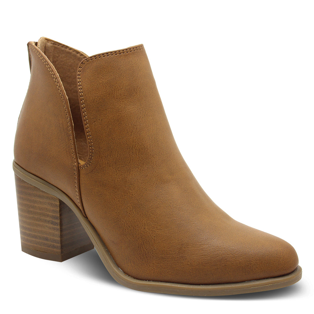 Verali Stefan Women's Tan Heel Boot
