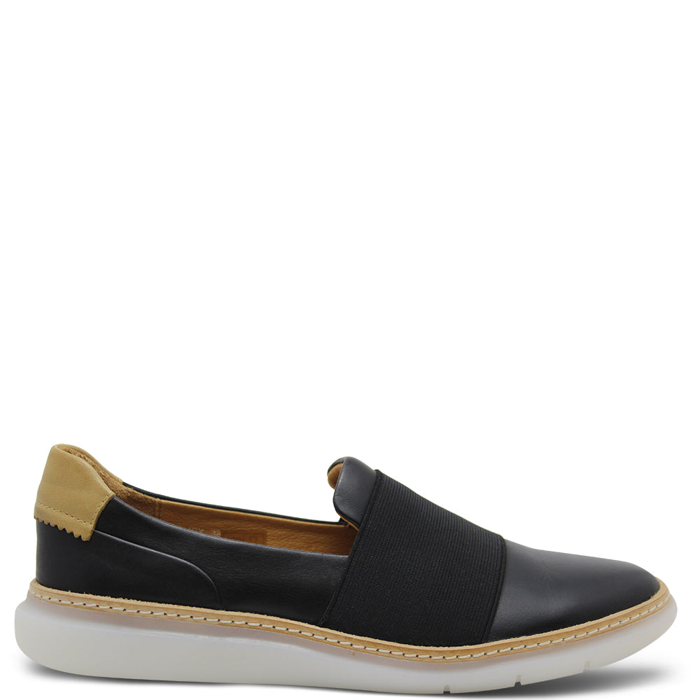 EOS Icy Women's Casual Slip On Blk Combo