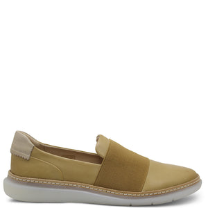 EOS Icy Women's Casual Slip On Tan Combo