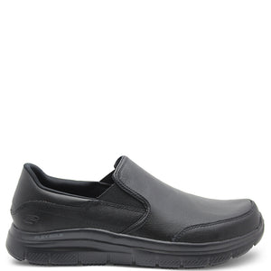 Skechers Flex Advantage SR Bronwood Men's Black Slip On