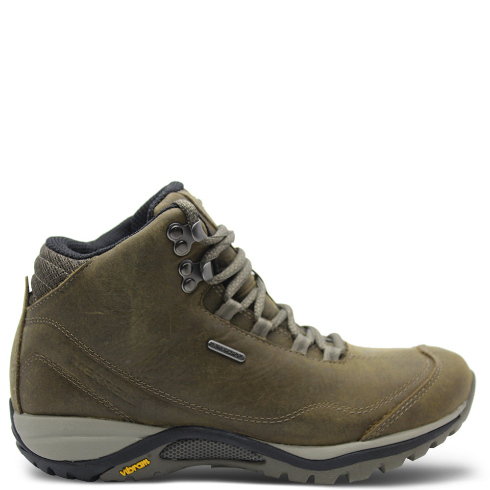 Merrell Siren Traveller 3 Women's Brindle/Boulder Mid Hiking Boot
