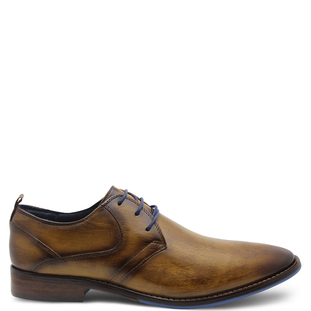 Ferracini Izett Men's Camel Lace Up Dress Shoe