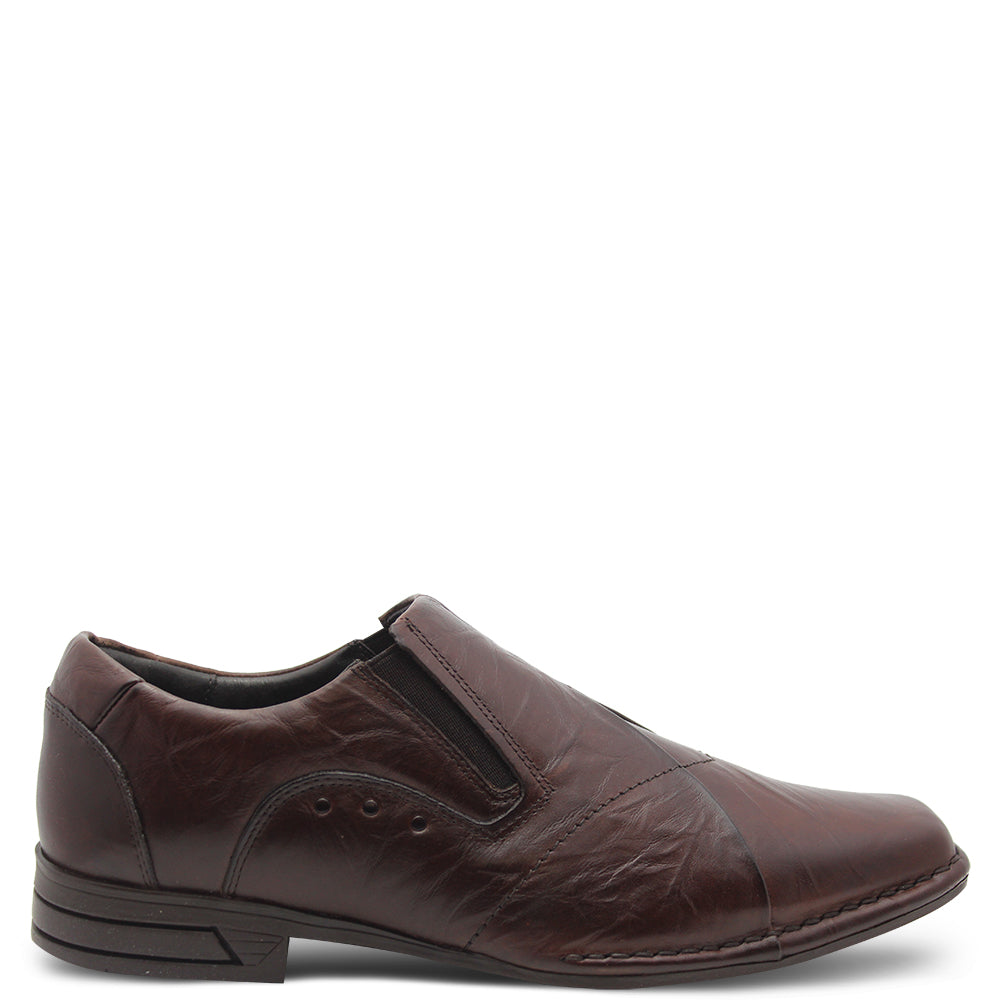 Ferracini Newson Men's Brown Slip On Dress shoe